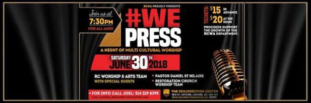we press concert